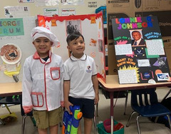 Cover photo of the 1st Grade Wax Museum album